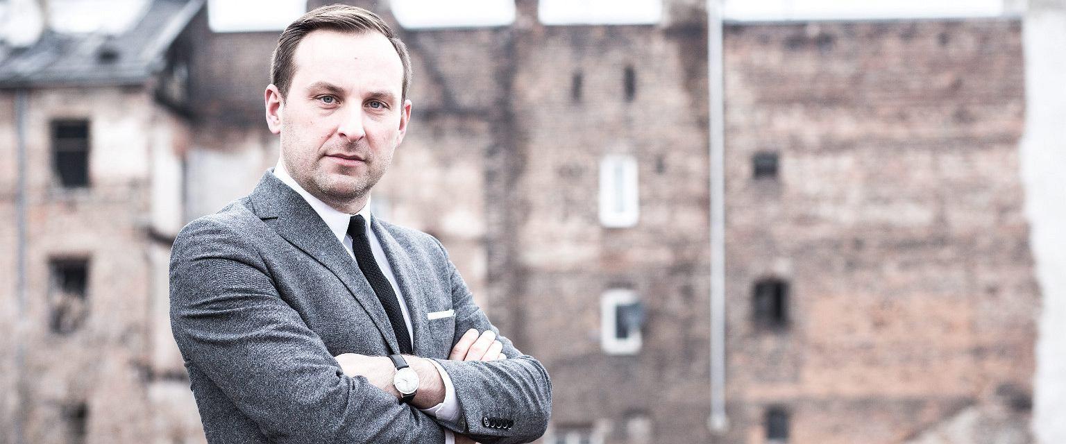 Jarosław Trybuś (fot. Bartosz Bobkowski / Agencja Gazeta)