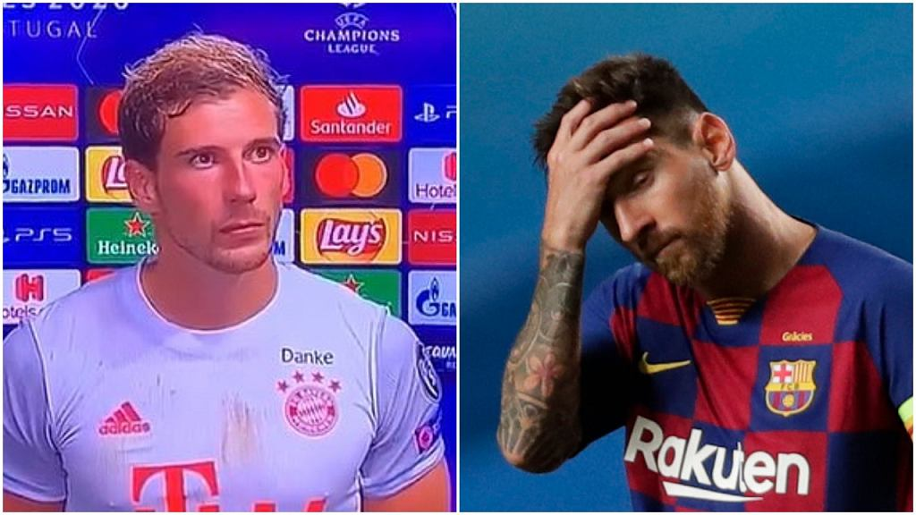 Leon Goretzka i Lionel Messi