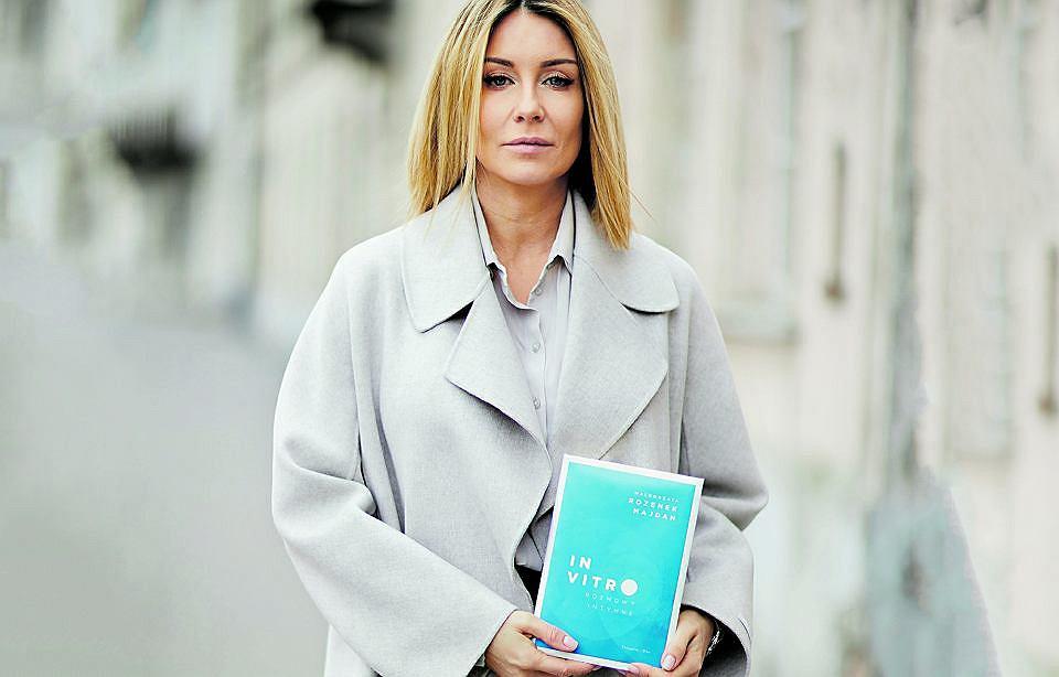 Małgorzata Rozenek-Majdan:  osobowość telewizyjna, autorka popularnych poradników i książek lifestyle'owych. W tym roku ukazała się jej książka 'In vitro. Rozmowy intymne'