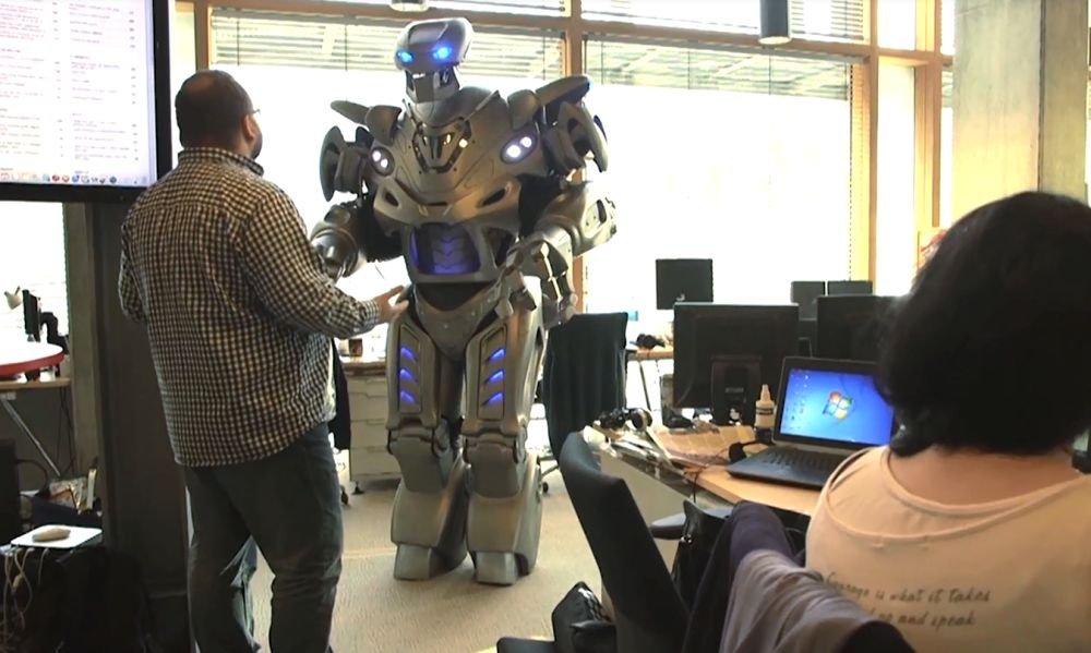 Robot Janusz - tajny pracownik Gazeta.pl