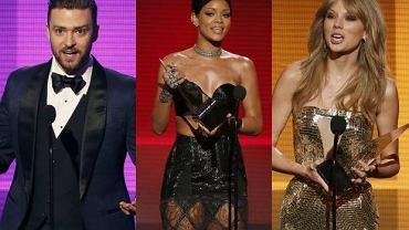 Justin Timberlake, Rihanna, Taylor Swift