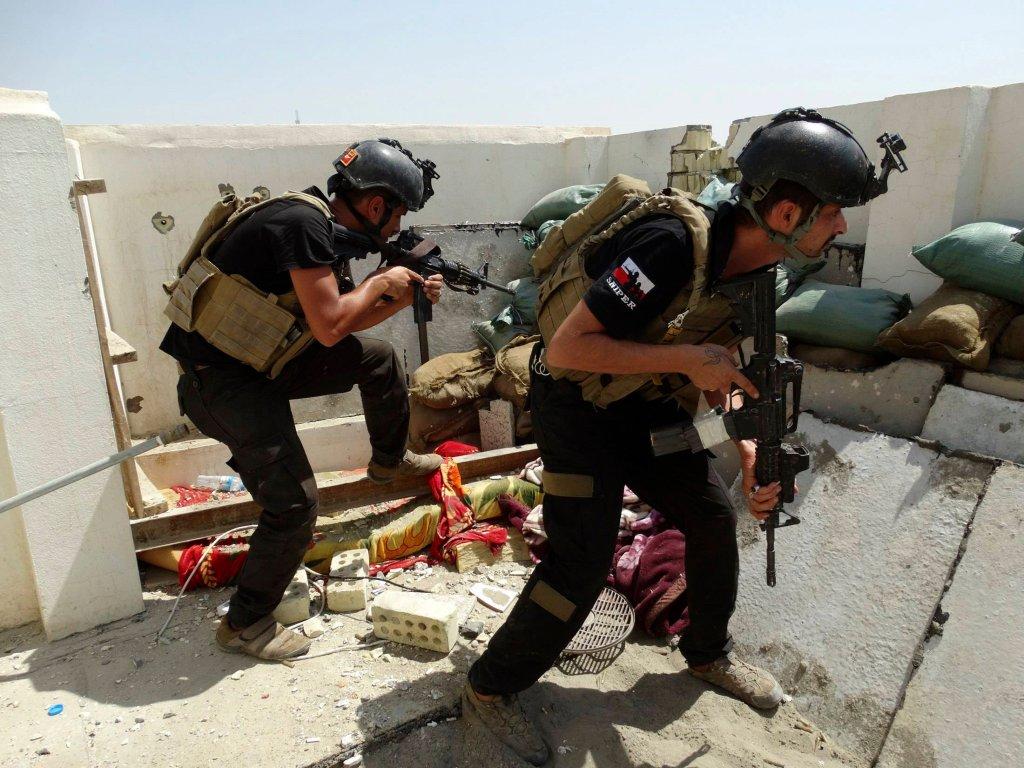 Siły irackie walczą z dżihadystami