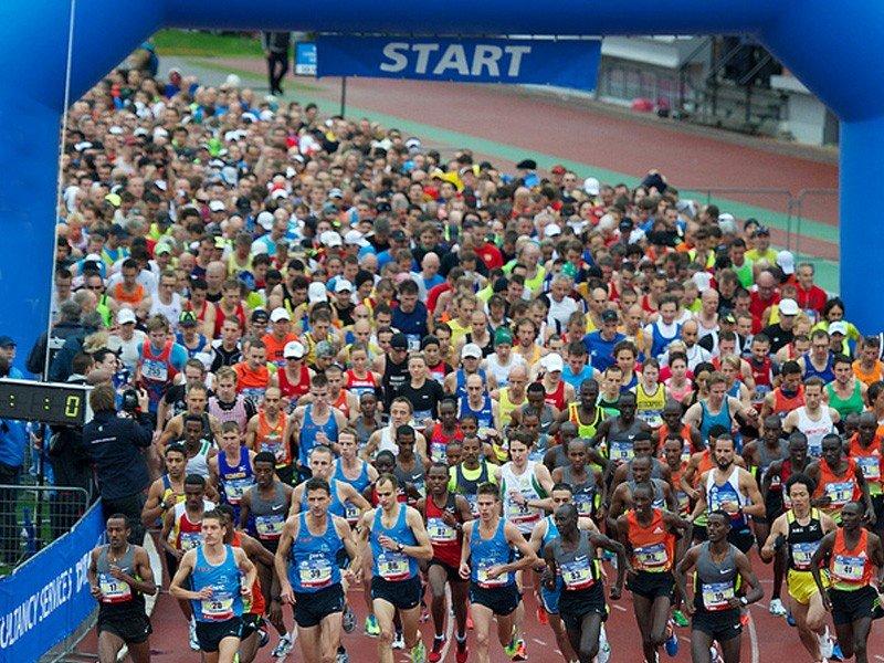 W niedzielnym maratonie w Amsterdamie ma pobiec 16 tys. osób