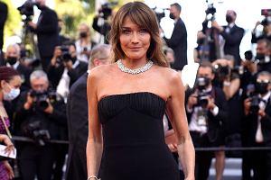 Carla Bruni z czerwonego dywanu w Cannes kibicowała Włochom. Znalazła na to nietypowy sposób