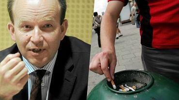 Minister zdrowia Konstanty Radziwiłł chciałby ograniczyć liczbę palących