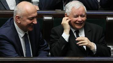 Joachim Brudziński i Jarosław Kaczyński