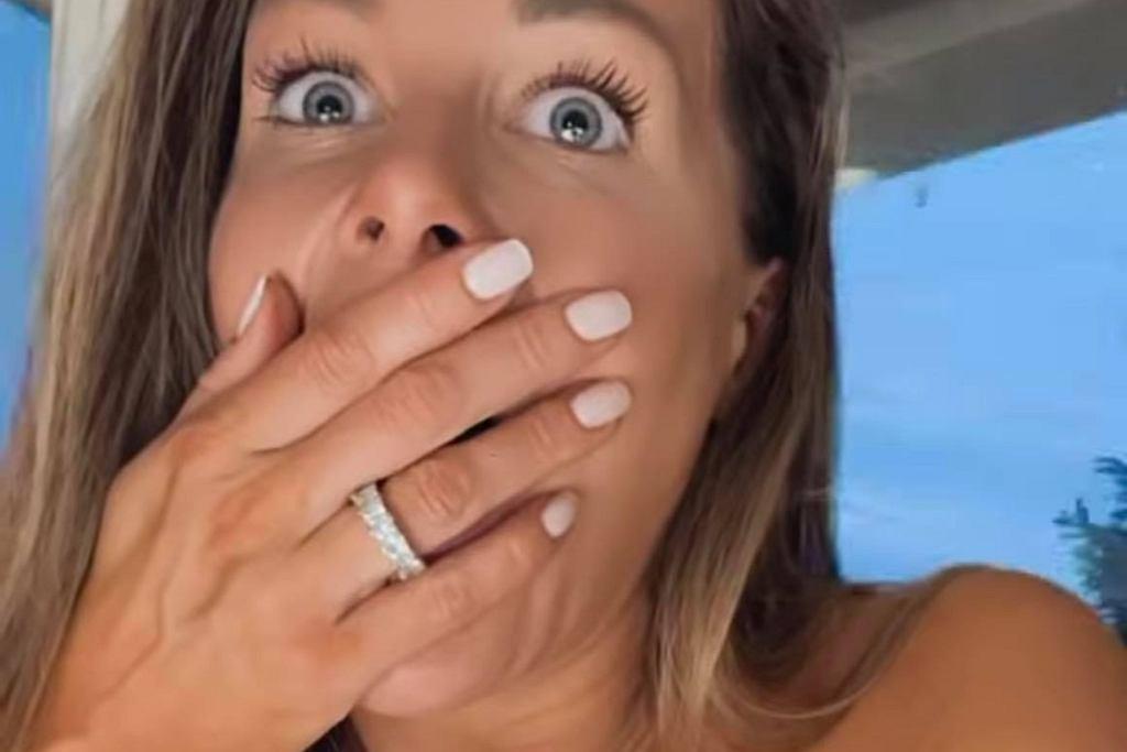 Małgorzata Rozenek przerażona burzą z gradem