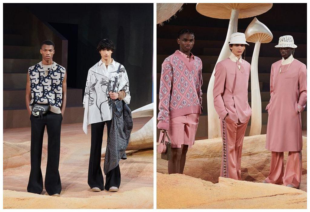 Kolekcja Dior Homme we współpracy z T. Scottem