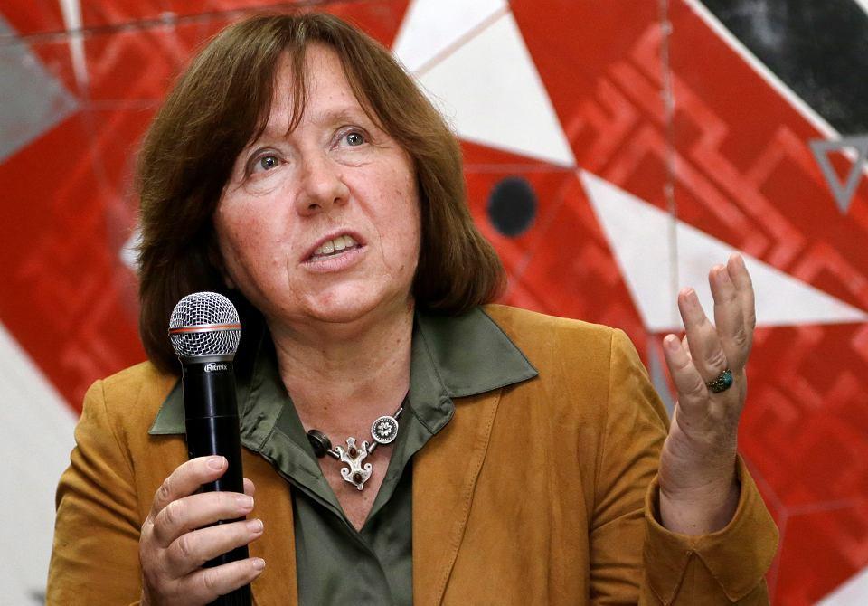 Swietłana Aleksijewicz, 2014