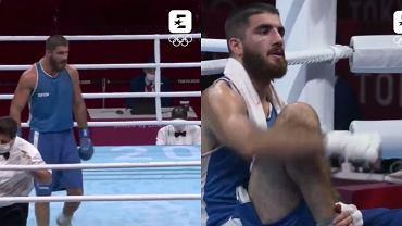 Mourad Aliev po dyskwalifikacji w walce z Frazerem Clarke