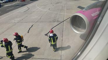Awaryjne lądowanie w Burgas