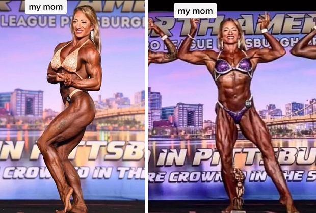 48-letnia Becky Short jest kulturystką