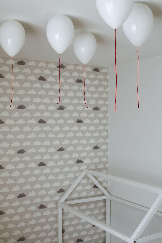 Pokój dziecięcy z balonikami