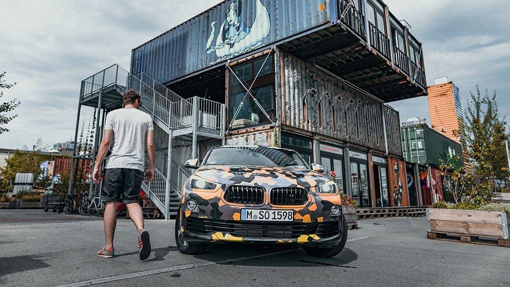BMW X2 2017 (teaser)
