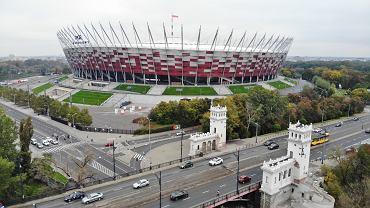 Szpital polowy na Stadionie Narodowym ma być gotowy na dniach, ale uruchomiony zostanie, kiedy inne placówki się przepełnią. Warszawa, 19 października 2020