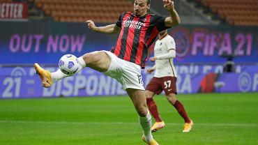 Milan - Roma, Zlatan Ibrahimović strzela swojego pierwszego gola