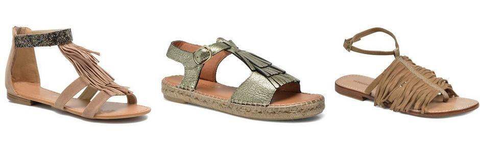 Sarenza - płaskie sandały