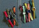 Kolorowe zegarki w stylu preppy