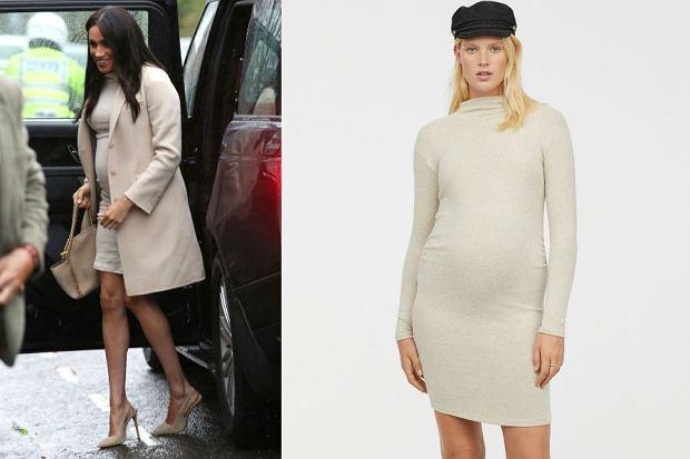 Meghan Markle w sukience z H&M