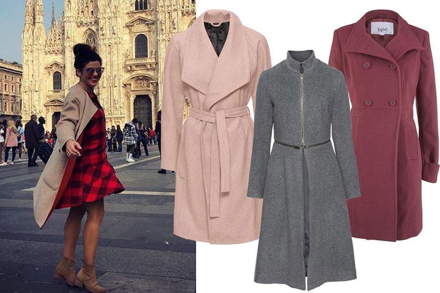 płaszcze dla niskich kobiet / mat. partnera