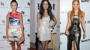 Monika Brodka, Weronika Rosati, Shakira.