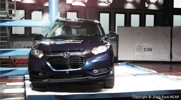 Testy Euro NCAP - Honda HR-V