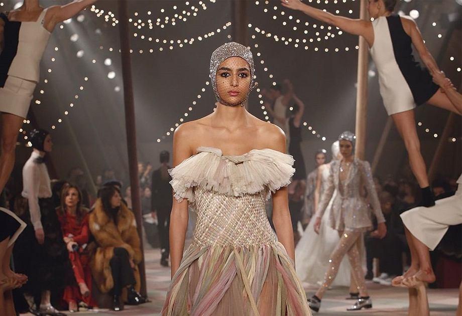 Christian Dior - pokaz kolekcji 'haute couture' wiosna-lato 2019