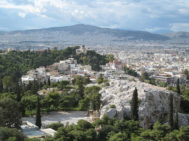 Widok na Akropol/ Fot. CC BY SA 2.0/ Titanas/ Flickr.com