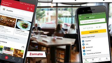 aplikacje do recenzowania restauracji
