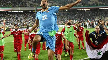 Radość Syryjczyków po remisie z Iranem, który dał im awans do barażów