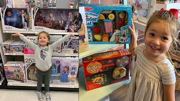 Dziecko na zakupach