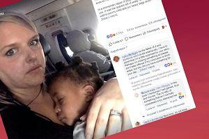 """Matka pisze do pasażera, któremu w samolocie przeszkadzał płacz jej dziecka. """"Sama prawie się popłakałam"""""""
