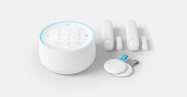 Urządzenia systemu bezpieczeństwa Nest Secure od Google