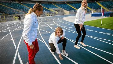 Lekkoatleci są pod wrażeniem bieżni na Stadionie Śląskim