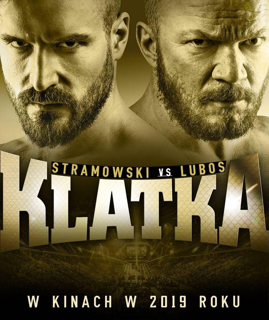 Film 'Klatka'  z Erykiem Lubosem i Piotrem Stramowskim