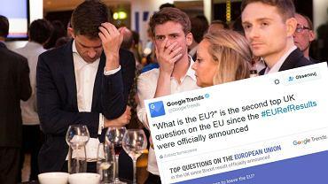 Reakcja zwolenników pozostania w UE na wiadomość o wynikach referendum