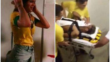 Bruna Marquezine, narzeczona Neymara, która bardzo przeżyła jego kontuzję.