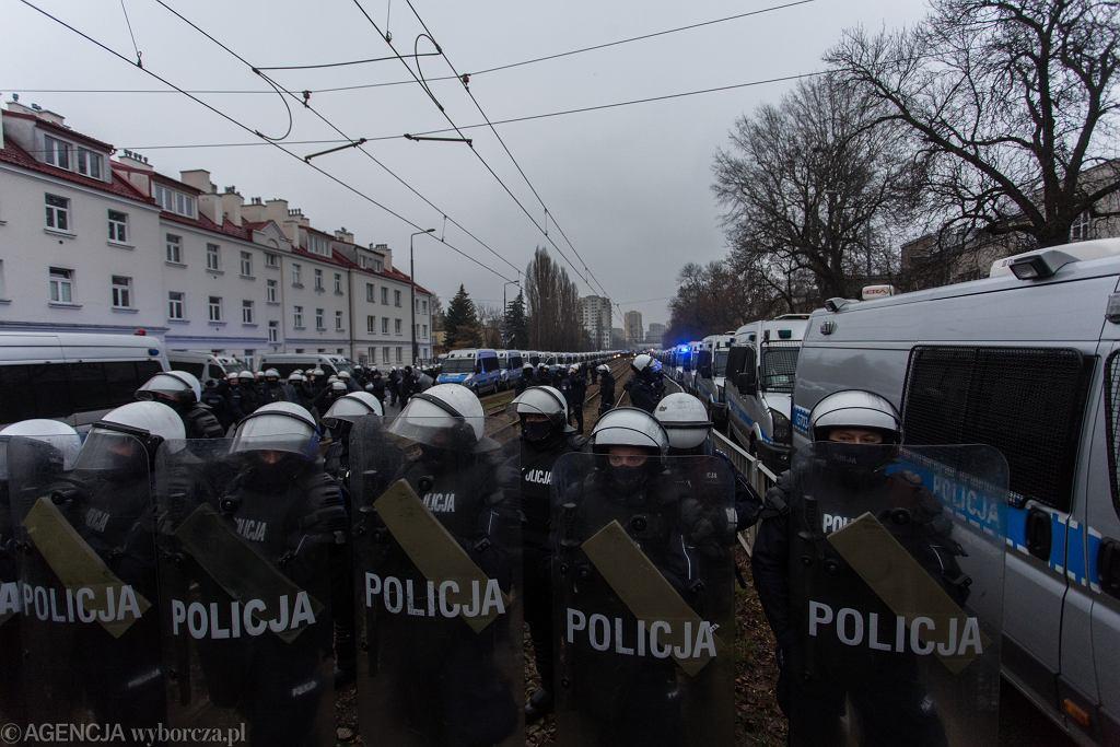 EStrajk Kobiet Idziemy po wolnosc. Idziemy po wszystko !' w Warszawie