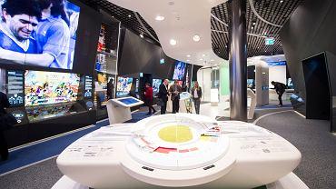 Muzeum FIFA. Zurich, Szwajcaria, 22 grudnia 2020