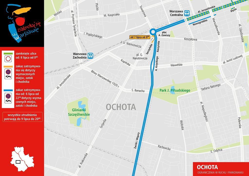 Szczyt NATO w Warszawie - zmiany w komunikacji miejskiej.