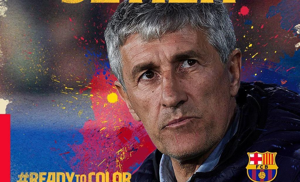 Quique Setien, nowy trener FC Barcelony