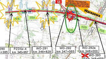 W ten weekend na A1 będą wyburzane wiadukty