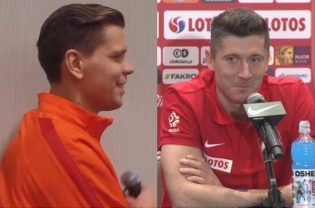 Wojciech Szczęsny, Robert Lewandowski