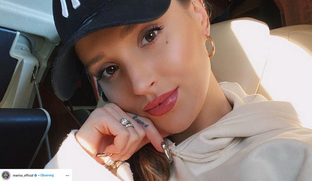 Marina Łuczenko-Szczęsna pokazała zdjęcie sprzed lat, gdy ważyła najwięcej. 'Fatalna stylizacja'