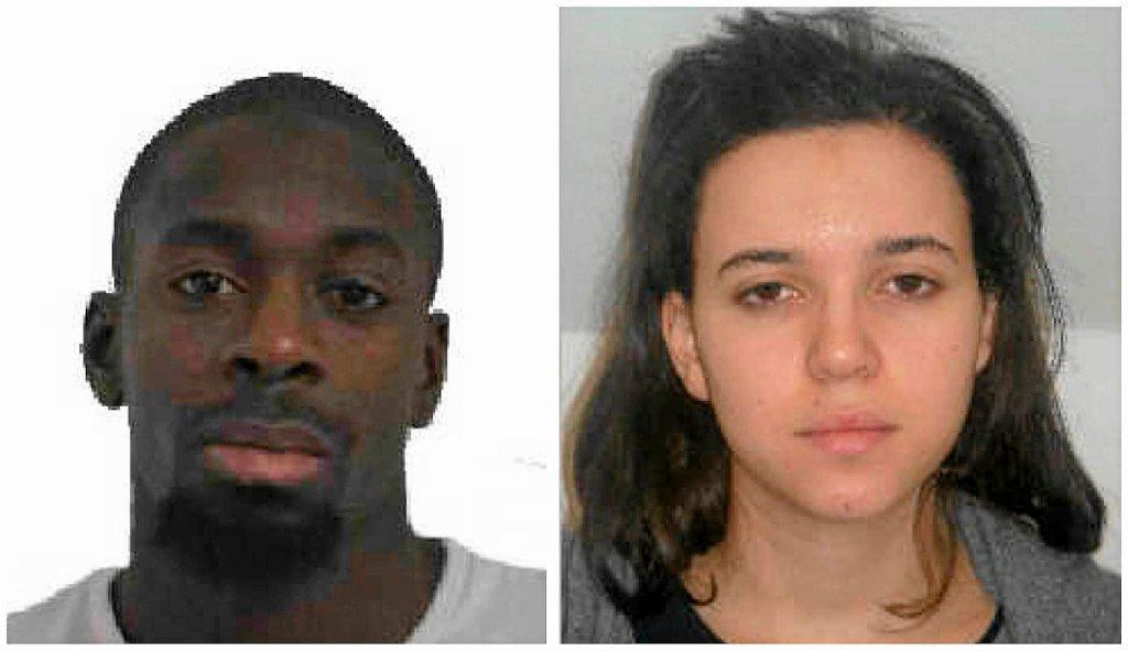 Amedy Coulibaly i Hayat Boumedienne