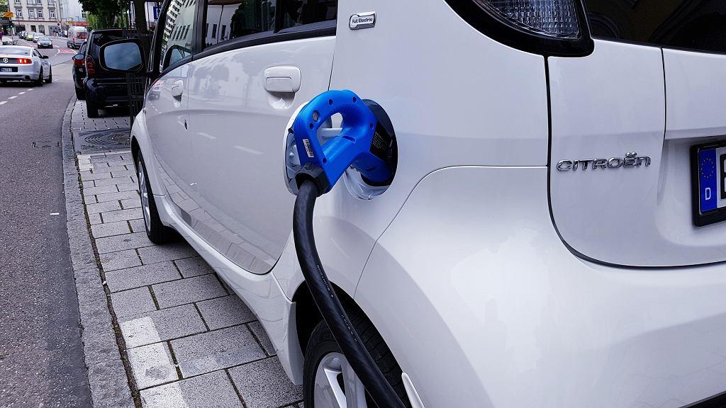 Samochód elektryczny, zdjęcie ilustracyjne
