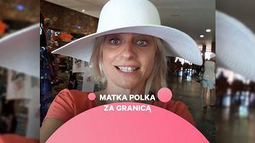 Aleksandra Sancewicz, Matka Polka za granicą