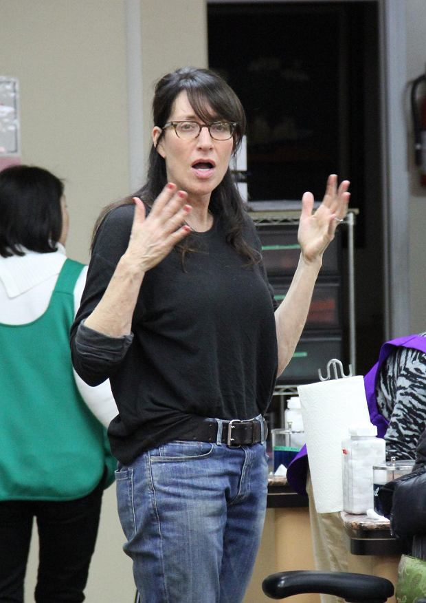 ?2013 RAMEY PHOTO 310-828-3445 EXCLUSIVE! Beverly Hills, California, January 8, 2013 Katey Sagal, no makeup, gets her nails done in Beverly Hills. RC