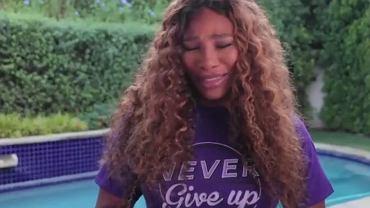 Serena Williams zalała się łzami. 'Ona cały czas była obok mnie'