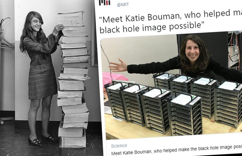 Margret Hamilton i Katie Bouman